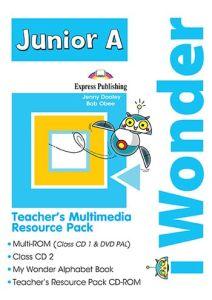 i Wonder Junior A: Teacher's Multimedia Resource Pack PAL (set of 4)