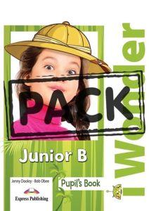I Wonder Junior B: Pupil's Pack (Pupil's Book , + iebook, +Multi Rom)
