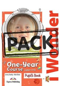 I Wonder One year course (Junior A+B): Jumbo pack ( Pupil's Book, Activity Book, Companion, ie-BOOK, CD,DVD)