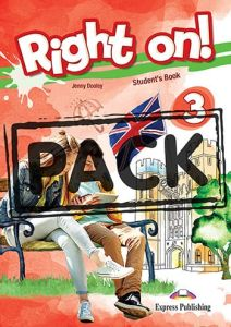 Right On 3: Jumbo Pack 2 (Student's Book, Workbook(With Digibooks Application), Companion, Grammar Book(With Digibooks Applicati