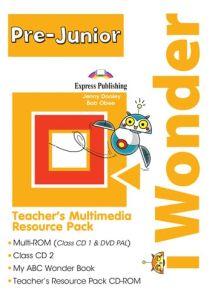 I Wonder Pre-Junior: Multimedia Resource Pack (Set of 4)