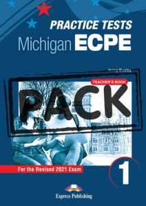 New Practice Tests For The Michigan ECPE 1: Teacher's Book with Digibooks App (Revised 2021 Exam)