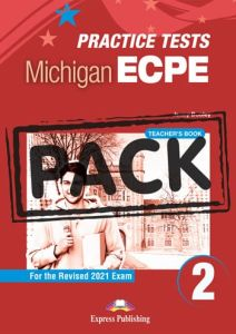 Practice Tests For The Michigan ECPE 2: Teacher's Book & Digibook app. (2021)