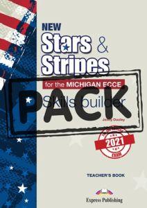 New Stars & Stripes Michigan ECCE Skills Builder: Teacher's Book (Revised 2021 Exam)