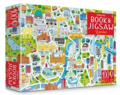 London Picture Book And Jigsaw (100 pieces)