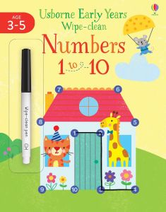 Early Years Wipe-clean: Numbers 1 to 10