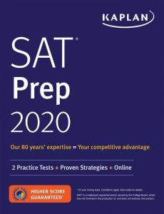 SAT Prep 2020 (2 Practice Test + Proven Strategies + Online)