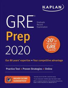 GRE Prep 2020 (Practice Test, + Proven Strategies, + Online)