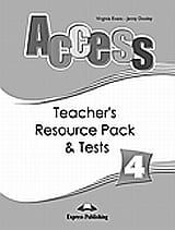 Access 4: Teacher's Resource Pack and Tests.