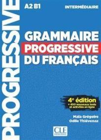 Grammaire progressive du francais Niveau Ιntermediaire: Livre & CD & Appli-web