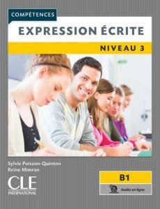 Expression Ecrite Niveau 3: Livre & Audio en ligne