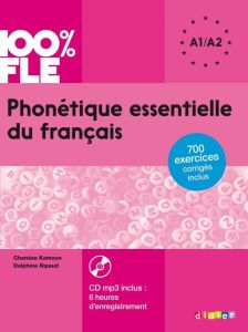 Phonetique Essentielle du Francais A1/A2 (& CD)