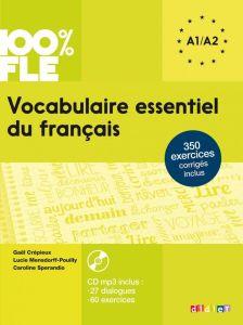 Vocabulaire Essentiel du Francais A1/A2 (& CD)