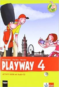 Playway 4: Activity Book (mit Audio-CD) (4. Schuljahr)