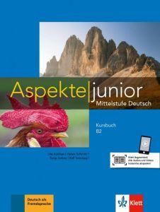 Aspekte junior B2: Kursbuch (+Audios zum Download)