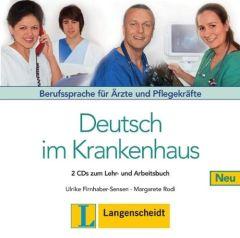 Deutsch im Krankenhaus: Audio Cd's