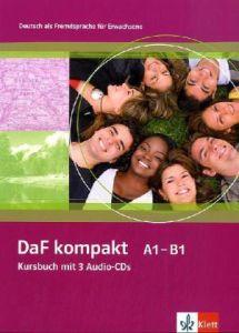 DaF kompakt A1-B1, Kursbuch mit 3 Audio-CDs