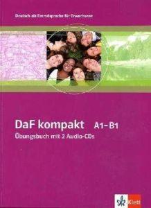DaF kompakt A1-B1, Ubungsbuch mit 2 Audio-CDs