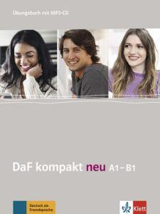 DaF kompakt A1-B1 neu: Ubungsbuch (mit 2 Audio-CDs)