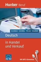 Deutsch in Handel und Verkauf  (Γερμανικά για Εμπόριο και Πωλήσεις)- Griechisch, Spanisch, Polnisch, Rumanisch .