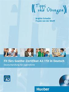 Fit furs Goethe-Zertifikat A2 fur Erwachsene:Lehrbuch (mit 2 Audio Cds)(Για Ενήλικες)