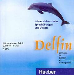 Delfin Teil 2 - Hoerverstehen, Lektionen 11-20, 4 CDs