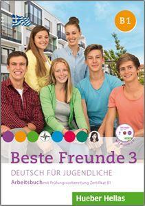 Beste Freunde 3 - Arbeitsbuch mit Audio Cd