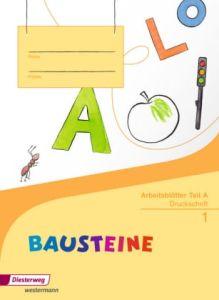 Bausteine Arbeitsblatter Teil A Druckschrift - Schuljahr