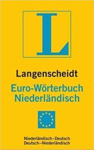 Λεξικό Langenscheidts Euroworterbuch Niederlandisch. Λεξικό Ολλανδικό/Γερμανικό και Γερμανικό /Ολλανδικό