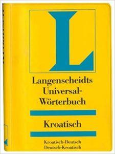 Λεξικό Langenscheidts Universal-Worterbuch Kroatisch. Λεξικό Κροατικό/Γερμανικό, Γερμανικό/Κροατικό mini