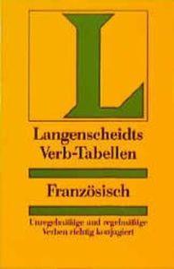 Langenscheidts Verb-Tabellen: Franzosisch