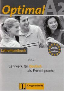 Optimal A2. Lehrerbuch mit CD-ROM fur Windows: Lehrwerk fur Deutsch als Fremdsprache