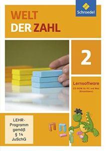 Welt der Zahl - Ausgabe 2015 Lernsoftware (2 auf CD-ROM)