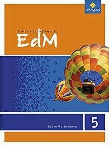 Elemente der Mathematik (EdM) 5, Schulerband 5. Schuljahr Ausgabe Baden-Wurttemberg (2016)