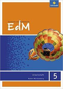 Elemente der Mathematik (EdM) 5, Arbeitsheft  5.Schuljahr