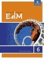 Elemente der Mathematik (EdM) 6, Schulerband 6. Schuljahr Ausgabe Baden-Wurttemberg (2016)