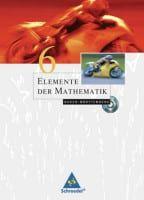 Elemente der Mathematik 6, Schulerbuch 10. Schuljahr, mit CD-ROM