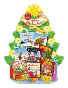 Pixi: Schone Weihnachtszeit (Μικρές Χριστουγενιάτικες ιστορίες)(8 bucher + 5 lustige Weichnachts Spiele)
