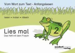 Lies mal Heft 2 Das Heft mit dem Frosch
