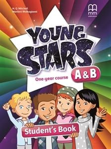 Young Stars A & B (One Year Course): Student's Book & Abc Book
