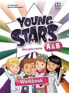 Young Stars A & B (One Year Course): Workbook