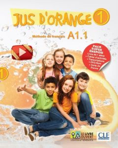 Jus d' Orange Super Pack Energie 1 (A1.1): Livre de l'eleve & Cahier & DVD-ROM & Carte de France & Transcriptions (Βιβλίο Μαθητή & ασκήσεων)