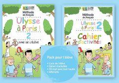 Ulysse a Paris 2: Pack Eleve (Livre de l'eleve (Βιβλίο Μαθητή) + Cahier d'activites (Βιβλίο Ασκήσεων) + Cd rom + Affichette)
