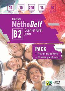 Nouveau Methodelf B2 Ecrit et Oral: Pack Eleve (Livre de l'eleve & Tests & CD)