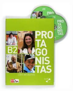 Protagonistas B2: Libro del alumno & Audio CD (Βιβλίο Μαθητή)