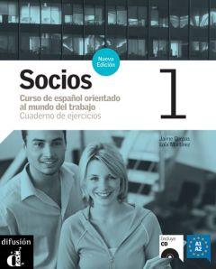Socios 1 Nueva Edicion, Cuaderno de ejercicios + CD