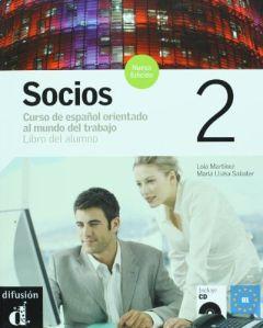 Socios 2 Nueva Edicion, Libro del alumno + CD (βιβλίο μαθητή)