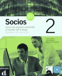 Socios 2 Nueva Edicion, Cuaderno de ejercicios + CD (Βιβλίο ασκήσεων)
