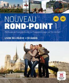 Nouveau Rond-Point 1: Livre de l'eleve & Cd  (Βιβλίο Μαθητή)