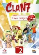 Clan 7 Hola Amigos Nivel 2: Libro del Alumno ( Βιβλίο μαθητή )